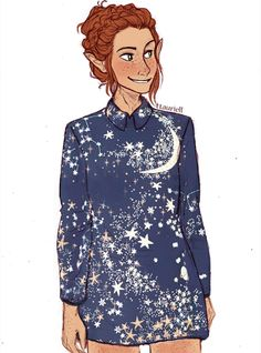 ttauriell:  every time i see thesedresses and stuff my mind immediately thinks'taurieltaurieltauriel' so yeah i drew her in my fav one n_n lets call this a 'modern-but-still-elven' au
