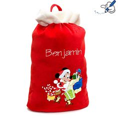Mickey Mouse Santa Sack