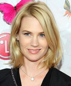 January Jones Long Bob