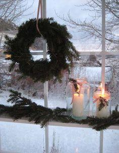 Julekranser - inspirasjon (ernashus)