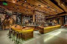 Starbucks new high end Roastery in Seattle