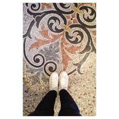 The Tile Flooring @ The Magdalen Chapter