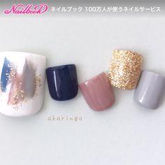 Pretty Toe Nails, Cute Toe Nails, Toe Nail Art, Fall Nail Art Designs, Toe Nail Designs, Picasso Nails, Holloween Nails, Feet Nail Design, Asian Nails