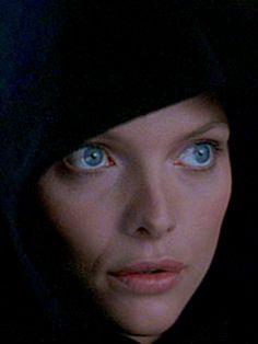 Michelle Pfeiffer in the movie LadyHawke.