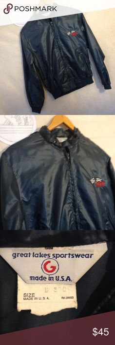 Vtg 90s skil racing team blue light jacket size M Used 1990s skil racing racket great look for drivers and race day.  Jacket has no holes, rips or tears shipping from smoke free environment.  SKU 111716.001.00X great lakes sportswear Jackets & Coats Lightweight & Shirt Jackets