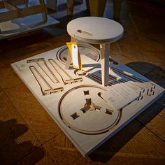 The Open Making Platform by OpenDesk, photo: © Le Vin Chin This is the first of a three-part Trend Report from Milan 2015 by Le Vin Chin. Collapsible Stool, Router Projects, Digital Fabrication, Design Your Life, Cnc Machine, Inspiration, Interior Design, Workshop Ideas, Cnc Router