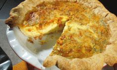 Buddy Valastro's (Cake Boss) recipe for pepperoni and mozzarella quiche.