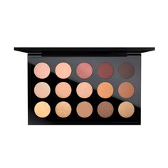 Eye Shadow x 15: Warm Neutral: A carefully selected palette of 15 warm shades that can create endless looks.