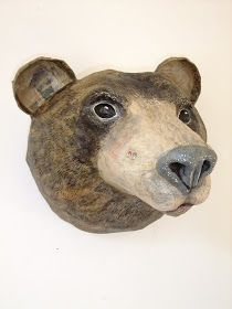 Mrs Cheese: emily warren - papier mache creatures