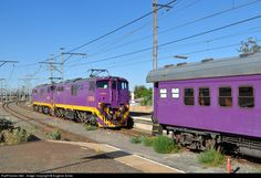 RailPictures.Net Photo: E1834 & E1950 Transnet Freight Rail Class 6E1 at Beaufort West, Western Cape province, South Africa by Eugene Armer