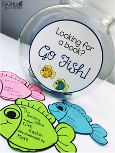 Students write book recommendations on fish! FREE template!