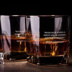 George Bernard Shaw Quote (Liquid Sunshine) - D.F Whiskey/Bourbon/Scotch Set of 2 (Round or Square)