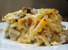 Hash Brown, Sausage, Egg and Cheese Breakfast Casserole