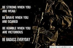 To All Those Who Have and Are Serving