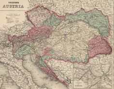 Historical Research Maps: Austria-Hungary - Family Tree Magazine