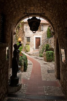 Eze Village, Cote d'Azur  It is a quaint village at the top of a mountain. Unforgettable.