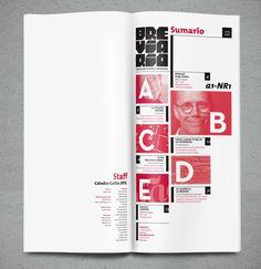 Index Idea Brevario by Daniel Varela, via Behance