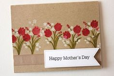 Happy Mother's Day Card by Heather Nichols for Papertrey Ink (February 2015)