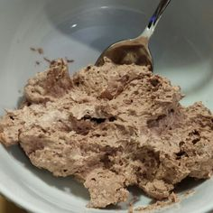 My new low cal, high protein snack! Approx 50 cals per serving! This makes about 5 servings for approx $6! Using a mixer combine one 8 oz tub of Cool Whip, one 16 oz tub of Greek yogurt,  and one 5 oz pkg of chocolate (or your flavor of choice) instant pudding mix! Blend well and keep chilled!
