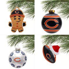 Amazon.com: Brian Urlacher #54 Chicago Bears Team logo Snowflake ...