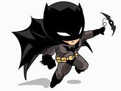 Batman chibi by TheCinnamonKoala