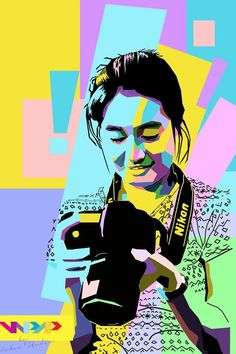 Wasti in WPAP  #vector #wpap #pop #art