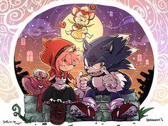 HAPPY HALLOWEEN Sonic and amy