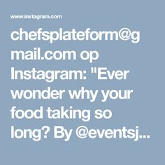 "chefsplateform@gmail.com op Instagram: ""Ever wonder why your food taking so long? By @eventsjamaicamobileapp via @PhotoAroundApp. Use #chefsplateform for get…"" Avocado Mousse, Instagram Posts, Food, Essen, Meals, Yemek, Eten"