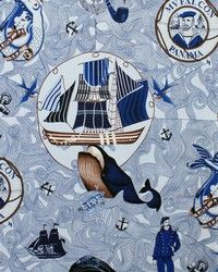 Goldingsealifeblue Jpg 640 480 Nautical Fabric Pinterest
