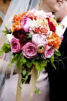 peonies, roses and ranunculus