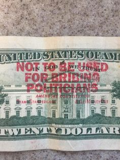 Terrence Evans on Twitter: Found this cute little $20 bill and it says #GetMoneyOut I wonder what that's about. -- Found in Minneapolis, MN