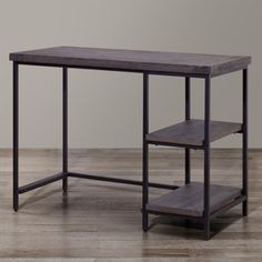 Renate Desk In Coffee Finish Office Pinterest Desks And Construction