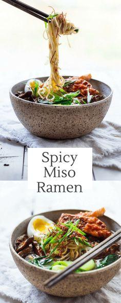 Spicy Miso Ramen wit