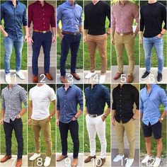 "7,518 Likes, 268 Comments - Chris Mehan (@chrismehan) on Instagram: ""Here are your favorite outfits from the last four months. Which one do you like the best❓ Thank…"""