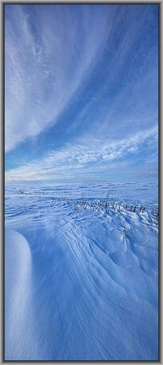 Baby It's Cold Outside   #winter snow blue white ice landscape nature #by Phil~Koch on flickr