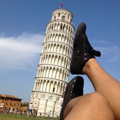 Just Fun! @ Leaning Tower of Pisa