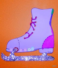 Tippytoe Crafts: Ice Skates and a Cup o' Cocoa Couple Crafts, Kids Lighting, School Holidays, Skates, Ice Skating, Winter Season, Cocoa, Arts And Crafts, Animation