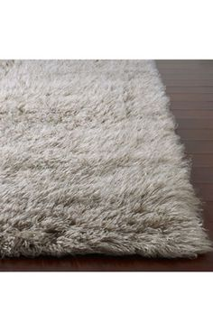 Rugs USA Standard Shag Greek Flokati Natural Grey Rug $139 for small but use coupon COL65 for 65% off