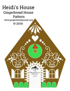 Vintage and Classic … More Gingerbread Houses from Christmas Past Gingerbread House Icing, Cardboard Gingerbread House, Gingerbread House Patterns, Cool Gingerbread Houses, Gingerbread House Parties, Christmas Gingerbread House, Christmas Fun, Christmas Houses, Christmas Cookies