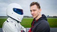 Tom Hiddleston on Top Gear.
