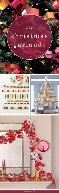 Sorry, tinsel: Your time is over. These festive embellishments are made with twinkling lights, colorful candies, and fruits you'll find only at the most wonderful time of the year.