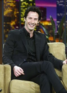 keanu reeves in The Tonight Show with Jay Leno 2003