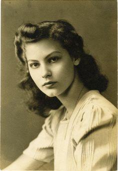 Ava Gardner a los 14 años