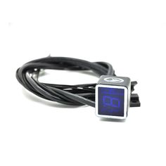 Bule color 1pcs Universal Digital Gear Indicator Motorcycle light Neutral Display Shift Lever Sensor