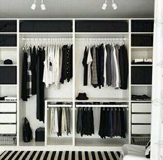 Ikea pax | Closet | Pinterest | Ikea pax, Wardrobes and Bedrooms