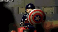captain america against the pack