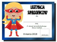Dzień Kobiet w przedszkolu - medale, dyplomy, inspiracje - Pani Monia Diy For Kids, Crafts For Kids, Origami, Diy And Crafts, Arts And Crafts, Preschool, Projects To Try, Family Guy, Education