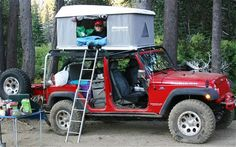 Overland Expo Jeep Wrangler Tents