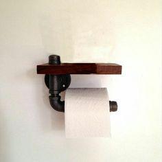 Toilet roll holder