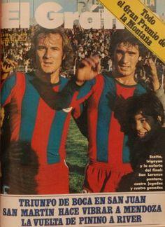 1974 Scotta e Irigoyen Messi, Sports Magazine, San Martin, Tapas, Baseball Cards, Movie Posters, Movies, Football Equipment, Retro Advertising